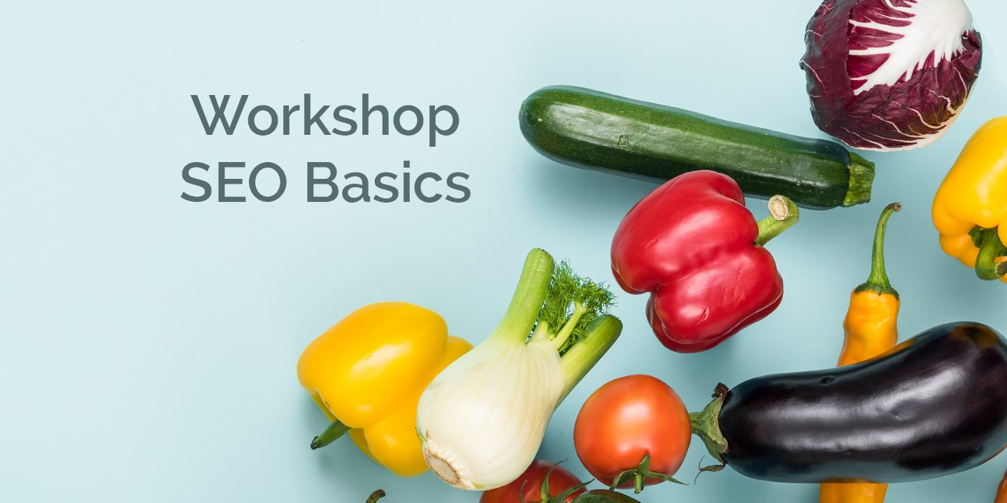 Workshop SEO Basics Portfolio